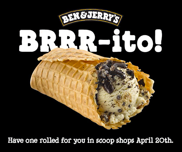 Ben & Jerry's: The Brrr-ito