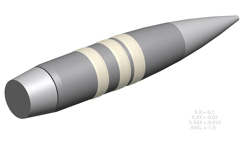 The Self-Steering Bullet