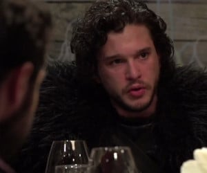 Dinner with Jon Snow