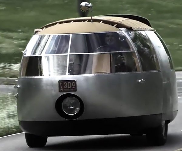 Driving the Dymaxion