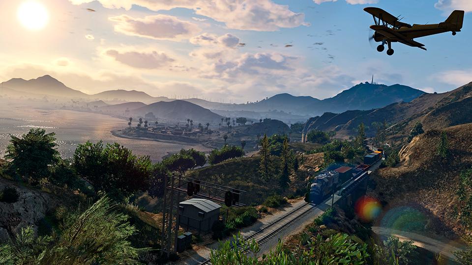 Grand Theft Auto V @ 60FPS
