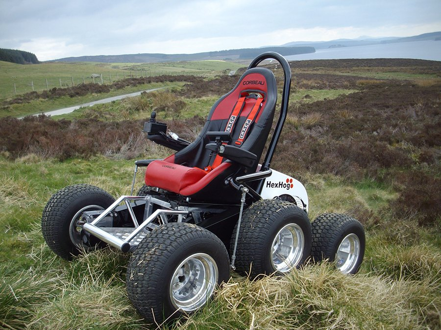 HexHog ATV Wheelchair