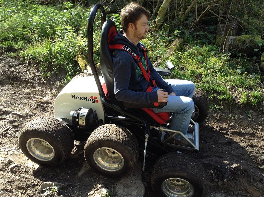 HexHog ATV Wheelchair
