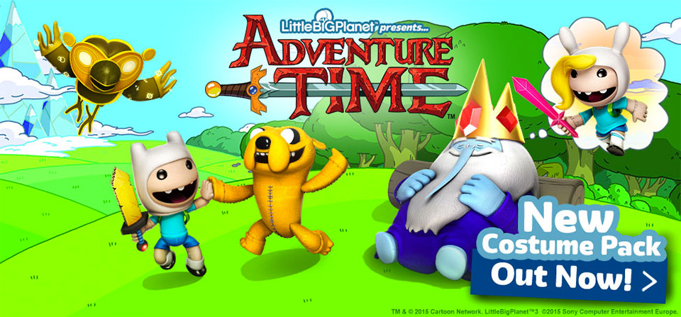 LittleBigPlanet 3 x Adventure Time