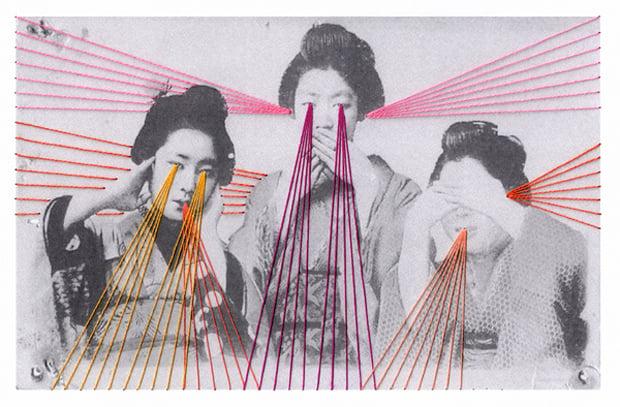 Mana Morimoto's Embroidered Art