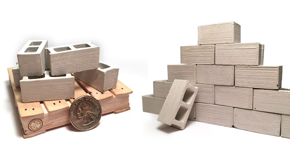 Cinder Block Building Blocks