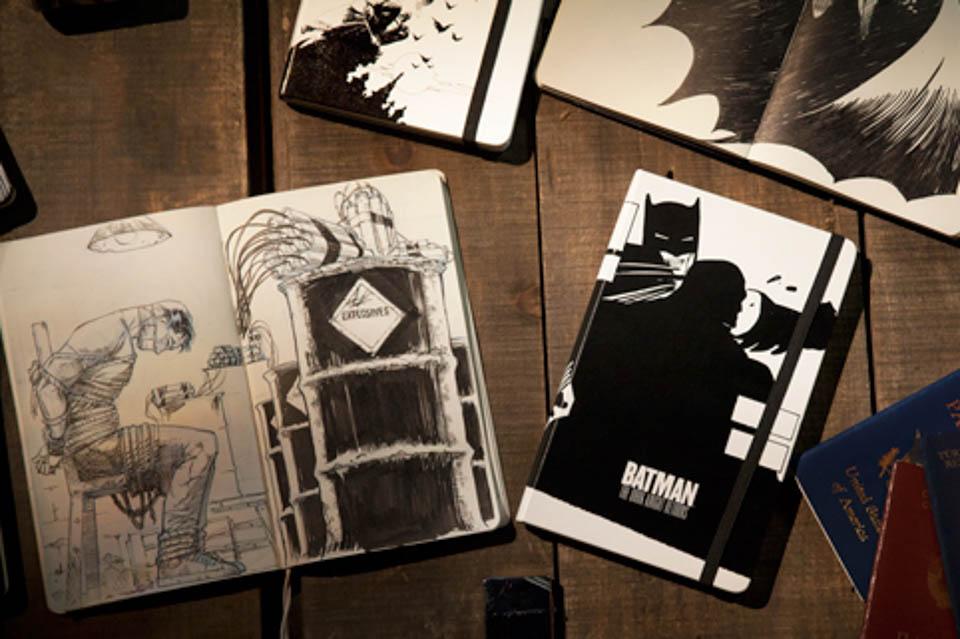 Moleskine x Batman
