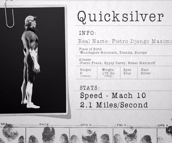 What if Quicksilver Ran Past You?