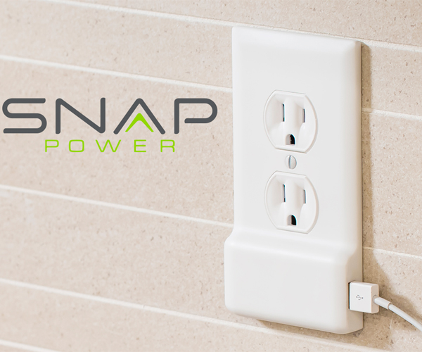 SnapPower USB Charger Outlet