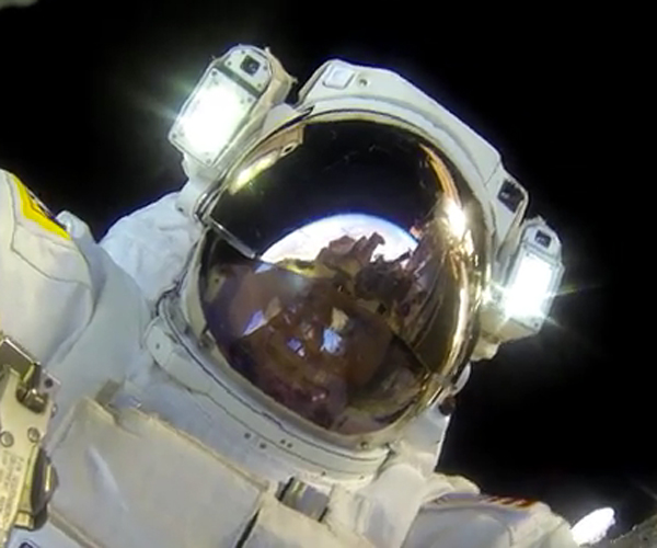 Spacewalk POV