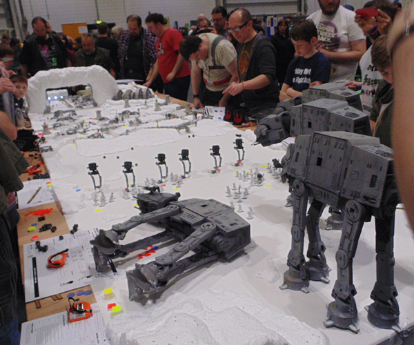 Star Wars Battle of Hoth Wargame