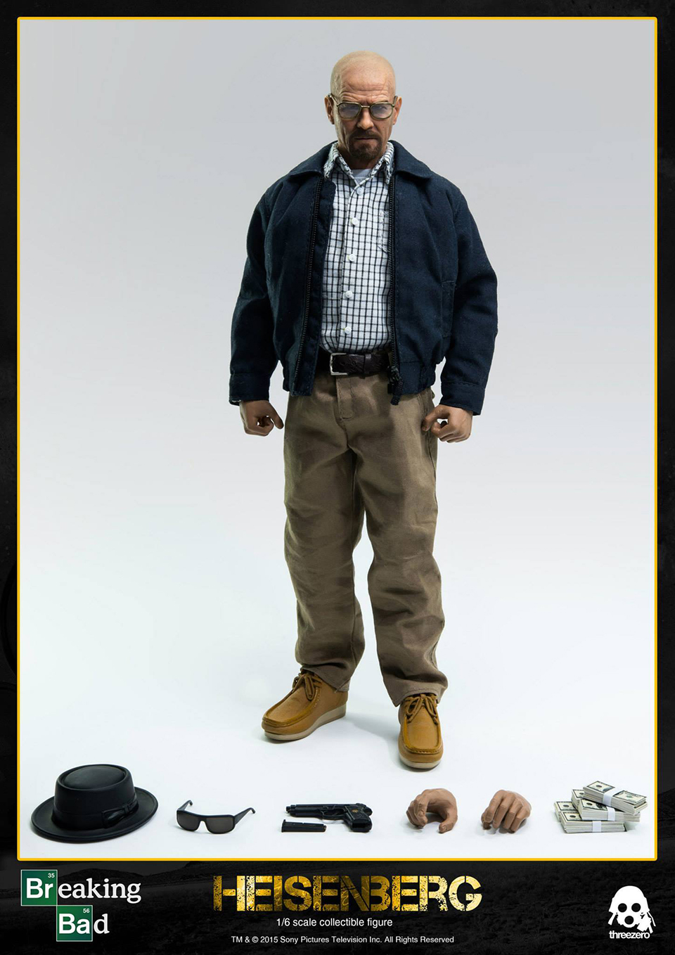 Threezero Heisenberg Action Figure