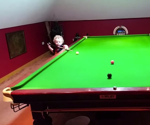 3-Year-Old Snooker Ace
