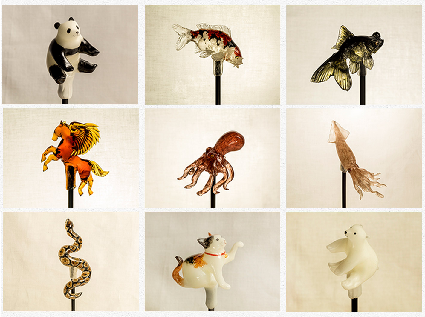 Realistic Animal Lollipops