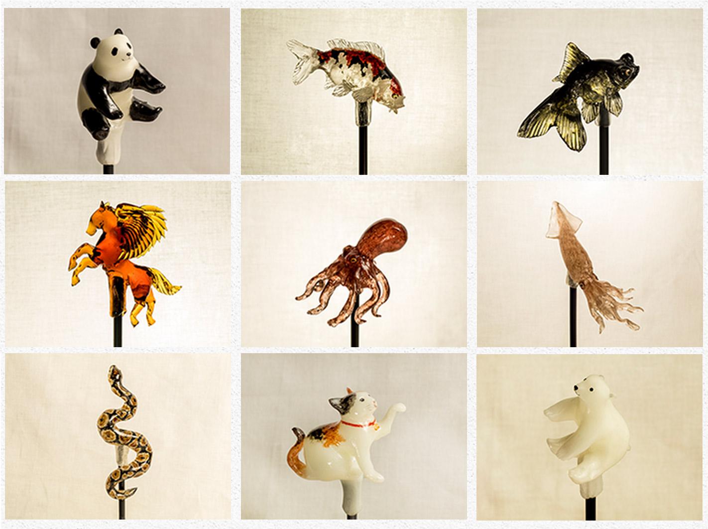 Realistic Animal Lollipops