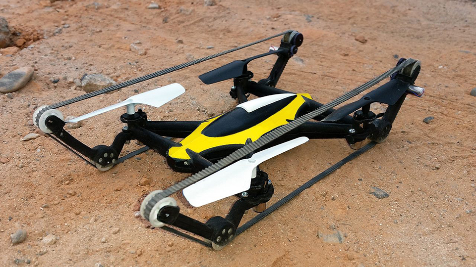 B-Unstoppable Tank Quadcopter