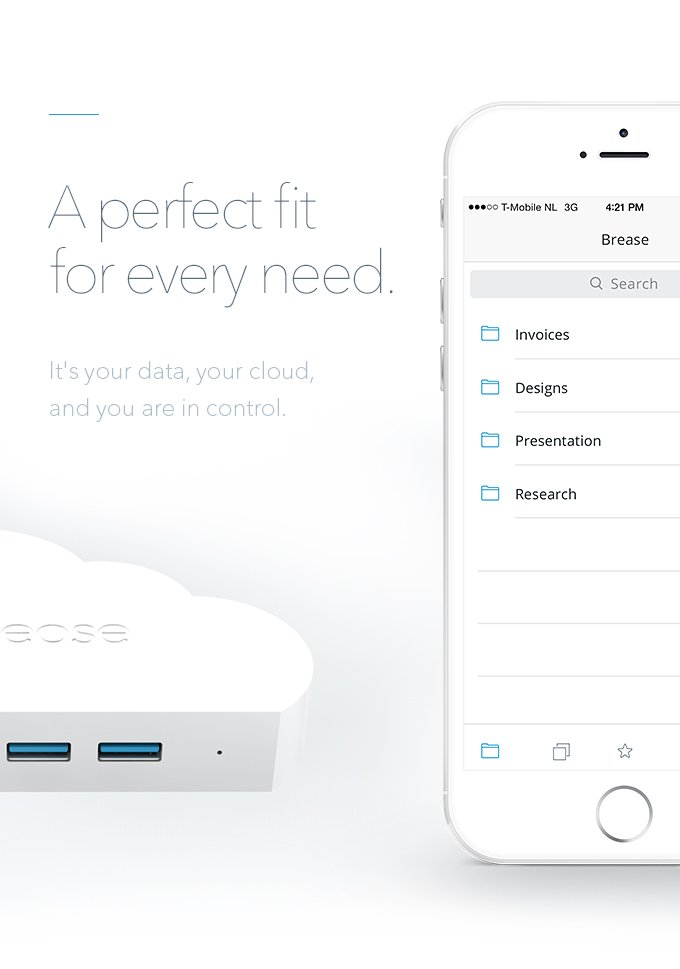 Brease Modular Cloud Storage