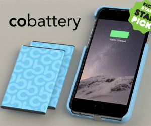 CoBattery iPhone 5/5S/6 Case