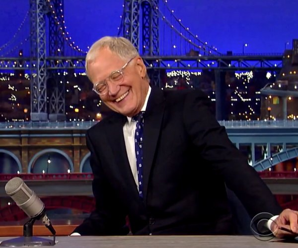 David Letterman Signs Off