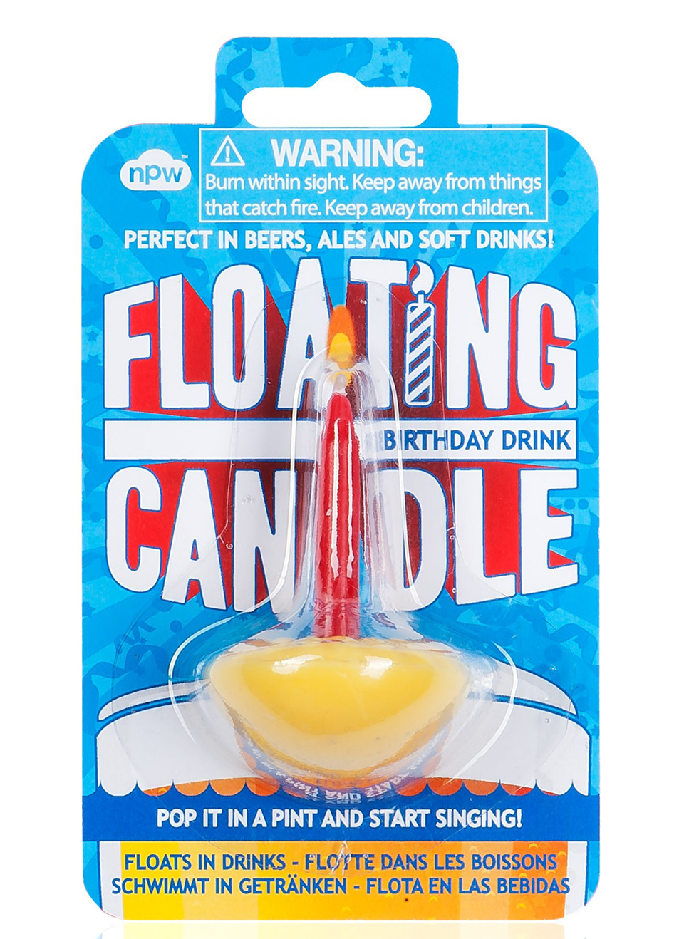 Floating Drink Candle