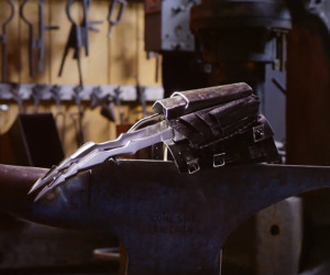 Forging the Predator Wrist Blades