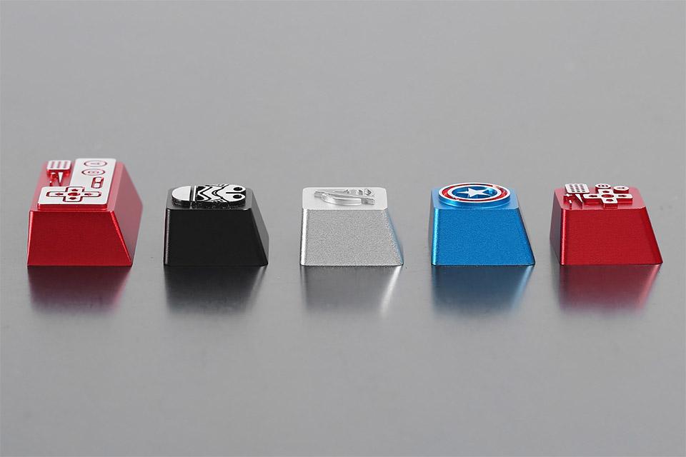 HolyOOPS Aluminum Keycaps