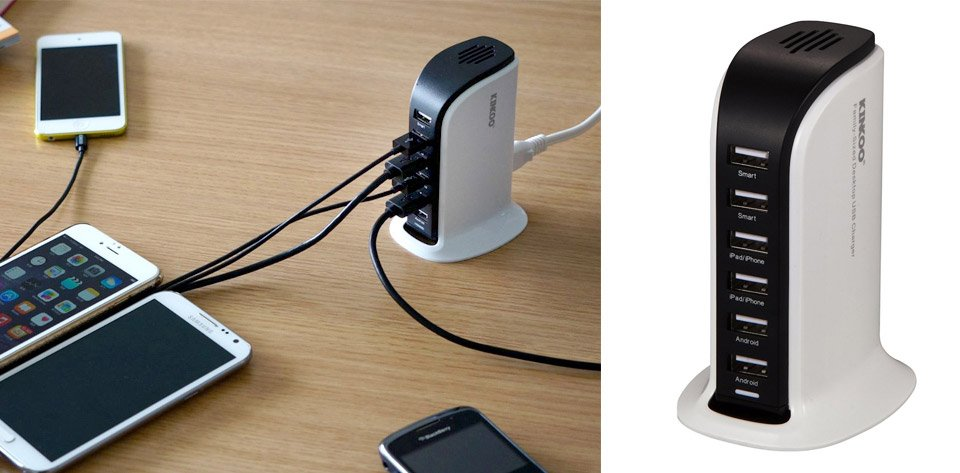 Deal: 6-Port High Speed Charger