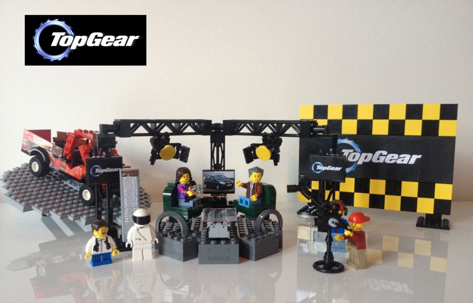 LEGO Top Gear UK Set Concept