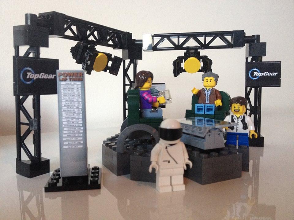 LEGO Top Gear UK Set Concept