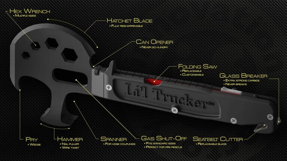 L'il Trucker Zombie Apocalypse Tool