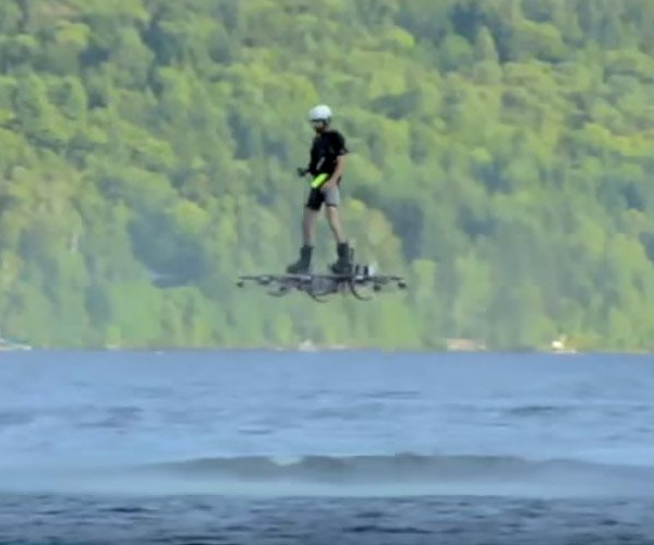 Longest Hoverboard Flight