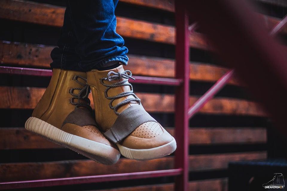Maggi Yeezy Boost Tan Custom