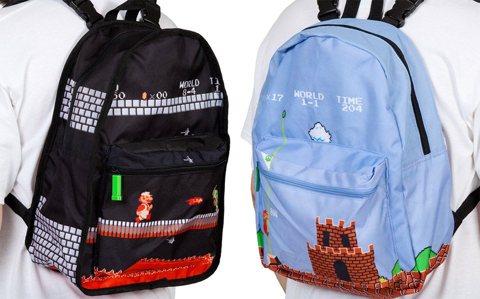 8e7a1c6401 Deal  Mario Reversible Backpack