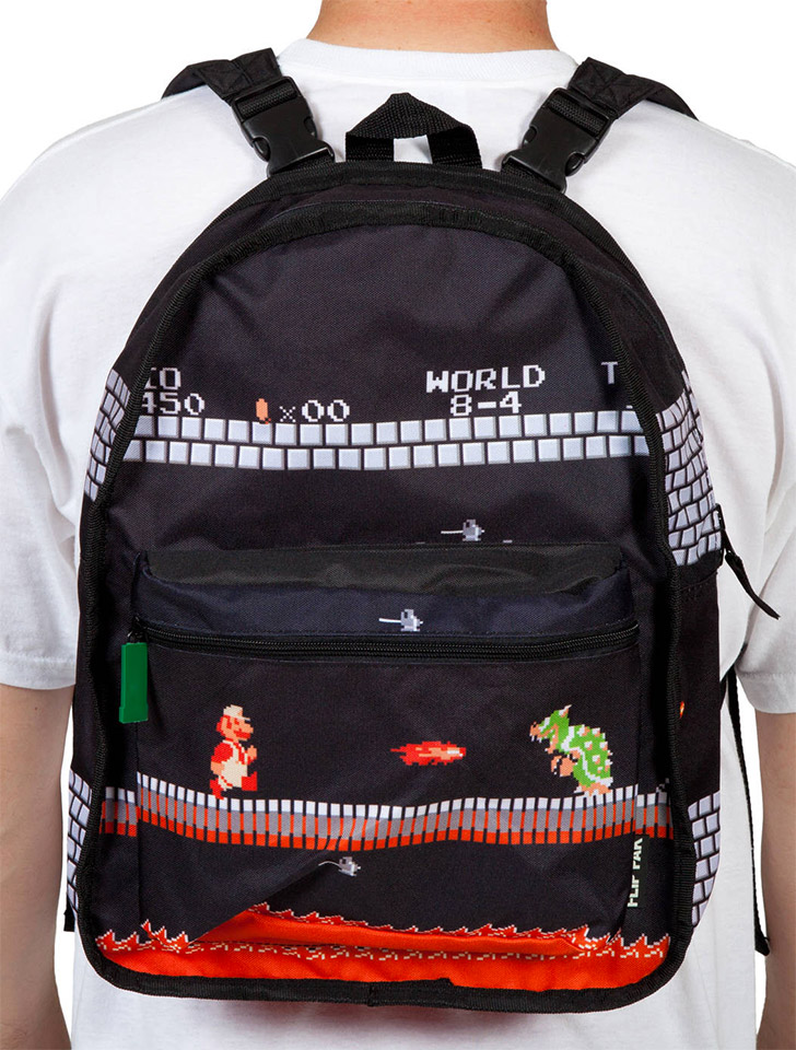 Deal: Mario Reversible Backpack