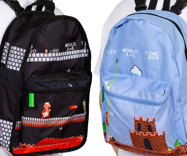 Deal: Mario Reversible Backpack