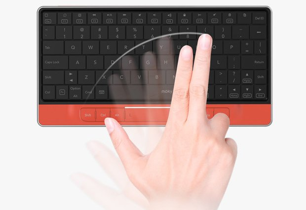 Moky Keyboard & Touchpad
