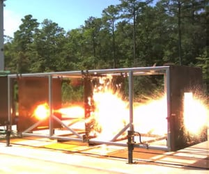 Navy Railgun Test Firings