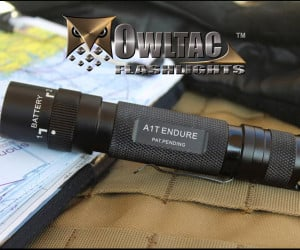 OWLTAC Selectable Battery Flashlight