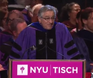 Robert De Niro NYU Tisch Speech