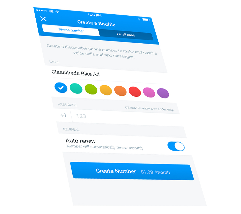 Shuffle for iOS