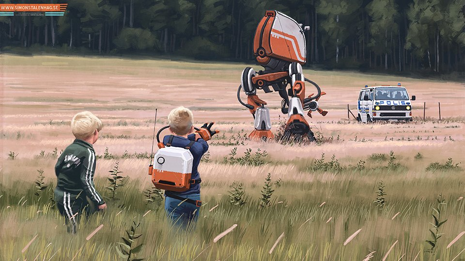 Simon Stålenhag: Tales from the Loop