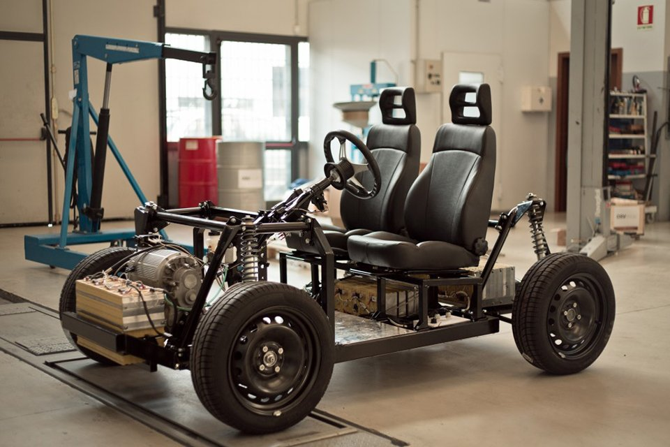 Tabby Evo Electric Vehicle