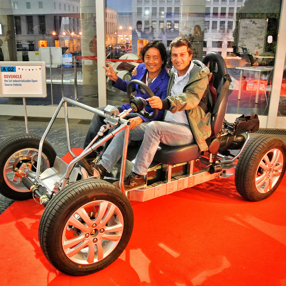 Tabby Evo Electric Vehicle