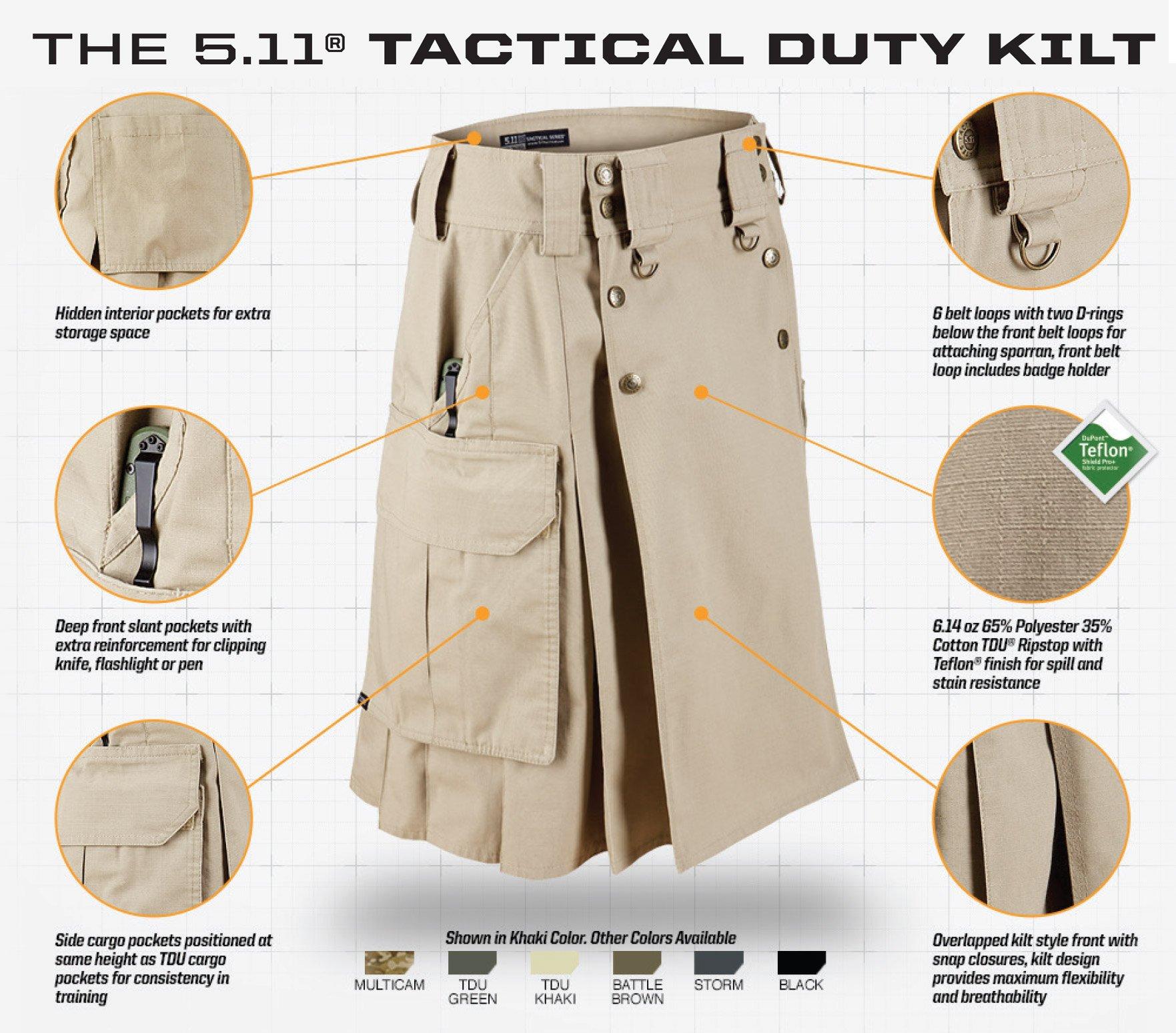 5-11 Tactical Duty Kilt