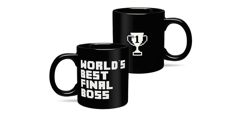 World's Best Final Boss Mug