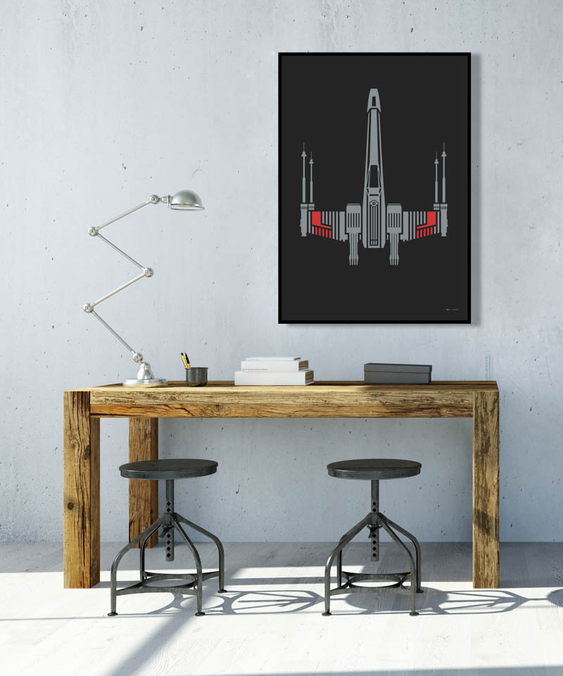 X-Wing Remastered Prints