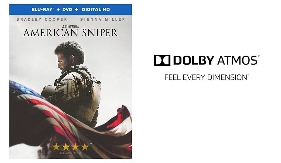 Win: American Sniper on Blu-Ray
