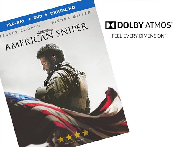 Win: American Sniper on Blu-Ray