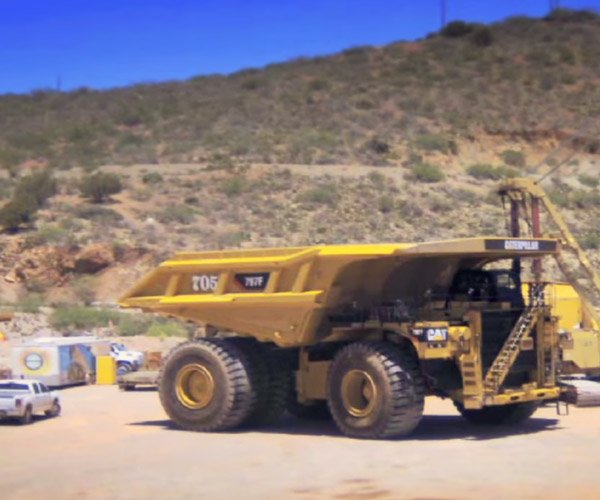 Building a Mining Truck