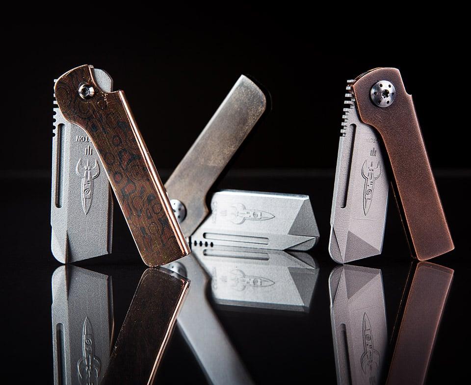 Caston Japanese Higo Knives